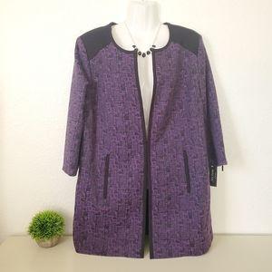 HP NWT Twinhill Purple Suit Jacket